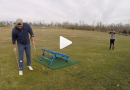 Flippin' amazing trampoline golf trick shot: video
