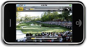 US Masters iphone