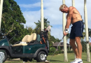 "Greg Norman is hitting golf balls again and swinging ""like a rusty gate"""