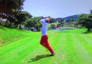 This pro has one of the craziest golf swings you'll ever see