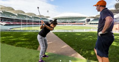 Adelaide Oval set to transform into a 9-hole golf course