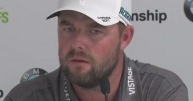 PHILOSOPHY / Marc Leishman gets asked one of the most difficult questions of all-time