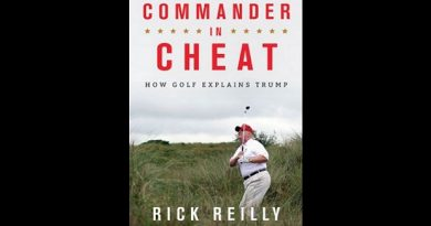 A golf book about Donald Trump is on its way: 'Commander In Cheat'