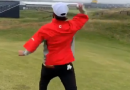 Watch this golfer throw a hole-in-one at Royal Portrush
