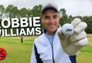 Robbie Williams chats to Rick Shiels about his obsession with golf