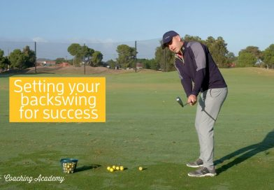 GOLF TIP Starting your backswing on the right track with Glenelg's Braeden Kelly