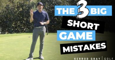 The 3 biggest short game mistakes golfers make