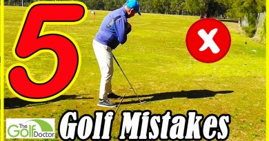 Golf tips: The 5 biggest mistakes golfers make