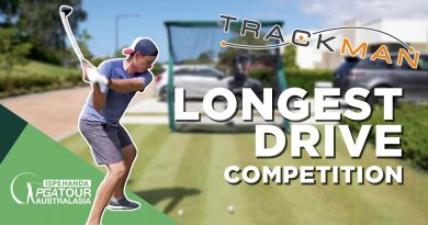 Would you trust yourself to hit the net in this long drive competition?