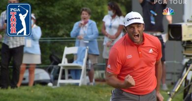Jon Rahm edges out Dustin Johnson in thrilling finish at BMW Championship