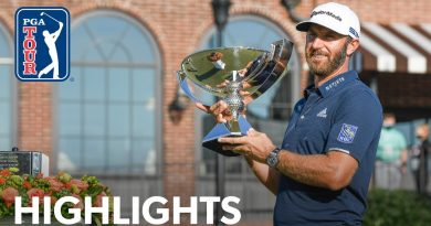 Dustin Johnson wins 2020 FedEx Cup: video highlights