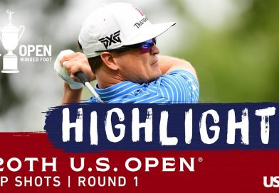 Justin Thomas leads US Open: First round video highlights